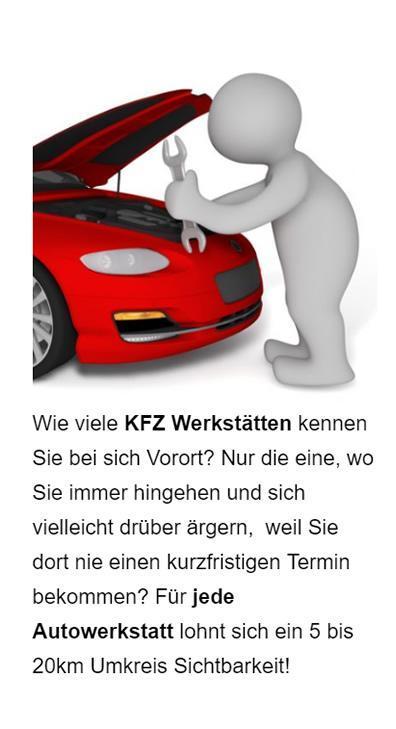 Autowerkstatt Online Marketing