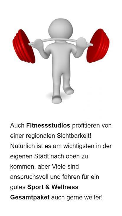 Fitnessstudio Googlewerbung