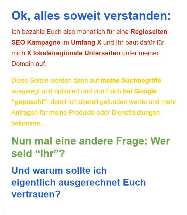 Google my Business für 2544 Leobersdorf