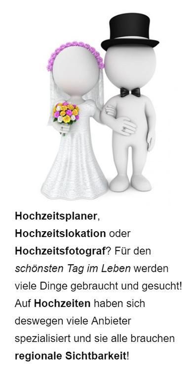 Hochzeitsservice Google Werbung